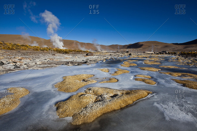 The El Tatio Geothermal Field in Chile