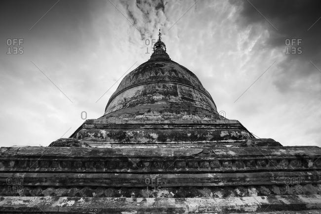 Shwesandaw Paya temple in Bagan, Myanmar