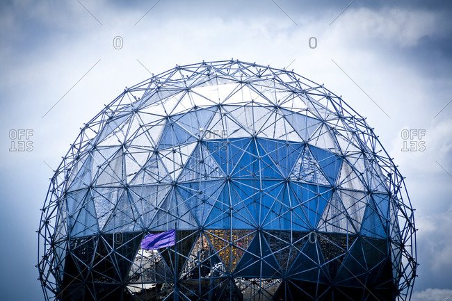 Canada, Vancouver - July 31, 2010: Dome of Science World
