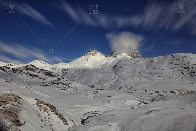 Ossau Valley in Frenche Pyrenees
