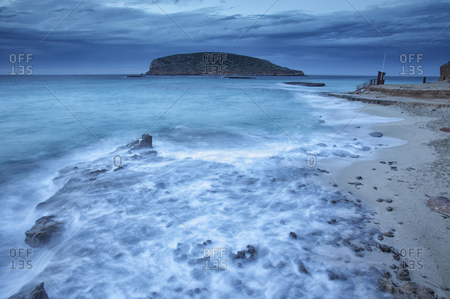 Cala Comte in the early evening