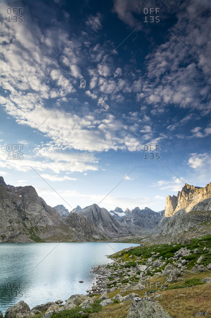 Titcomb Basin, Wind River Range, Bridger Teton National Forest, Pinedale, Wyoming