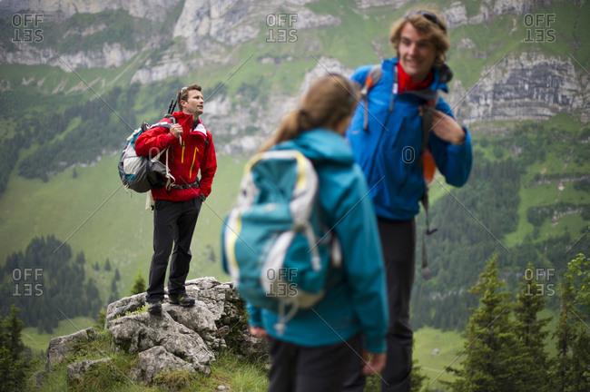Hikers, Appenzellerland, Switzerland