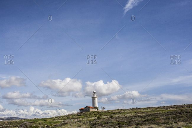 Lighthouse in Paphos, Cyprus