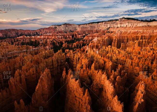 Hoodoos in Bryce Canyon National Park, Utah