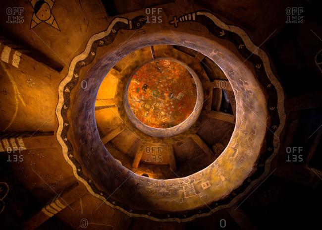Interior of the Watchtower