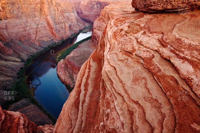 The Colorado River in Marble Canyon, Arizona, USA