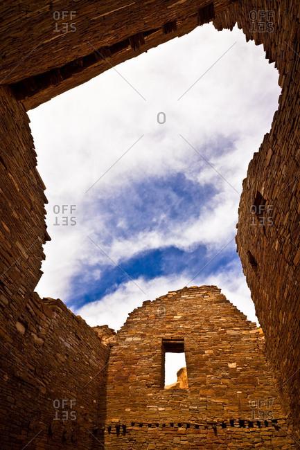 Pueblo Bonito at Chaco Culture National Historical Park in New Mexico, USA