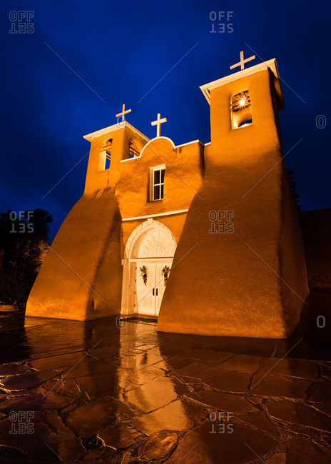 Saint Francis de Asis Church in Ranchos de Taos, New Mexico, USA