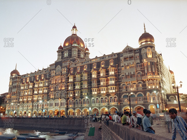Mumbai, India - February 8, 2015: Historic hotel in Mumbai, India