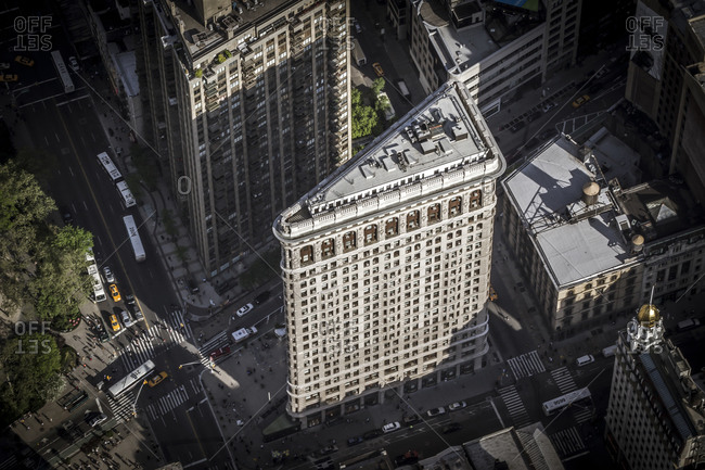 May 13, 2014: The Flatiron Building in Manhattan, NYC