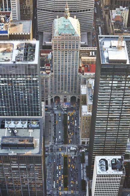 The Helmsley Building in Midtown Manhattan, NYC