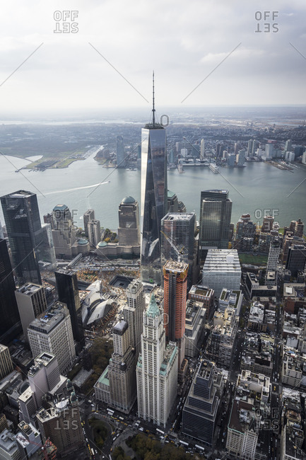 The Freedom Tower in Manhattan, New York City, USA