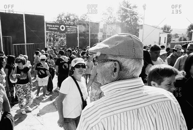 Festival De Sant Miguel, Spain - July 10, 2012: Crowds at festival in Spain