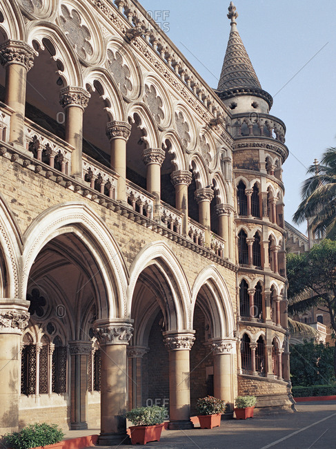 University building in Mumbai, India