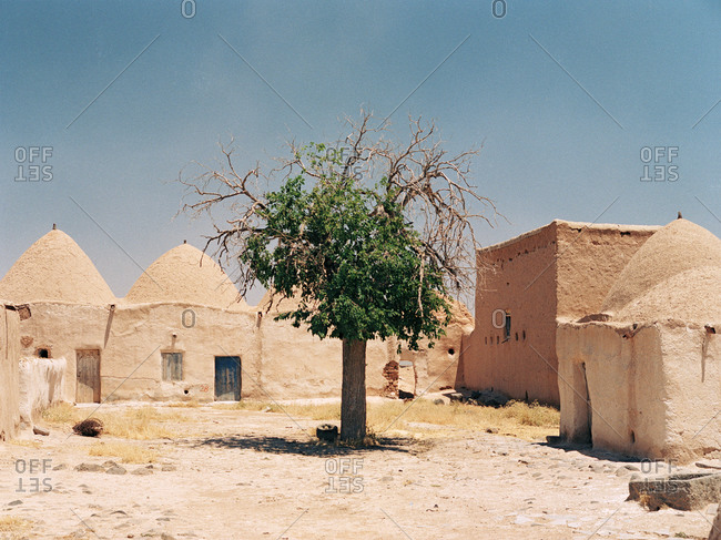 Rural village in Syria