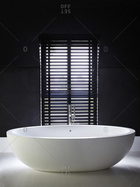 Interior of a stylish bathroom