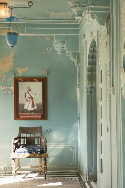 Interior corner of City Palace, Jaipur