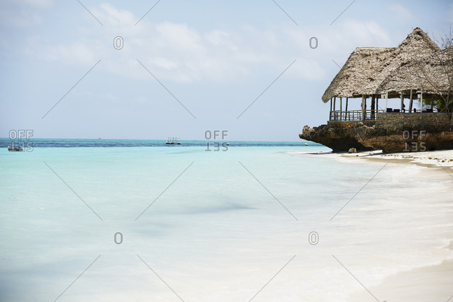 Tropical beach from the Offset Collection