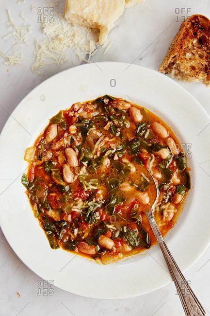 A hearty bean soup