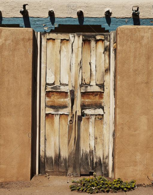 An adobe door - Offset Collection