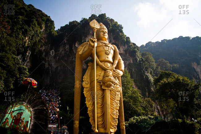 Statue of Lord Murugan by Batu Caves