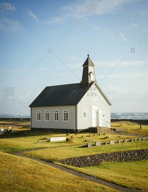 Strandarkirkj, a Church in Reykjanes, Iceland