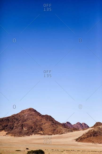 Rock formations in the desert, Sossusvlei, Namibia