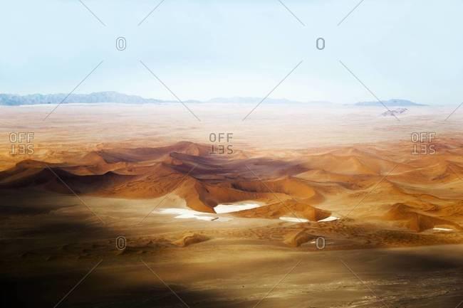 Soft sand dunes in Sossusvlei, Namibia