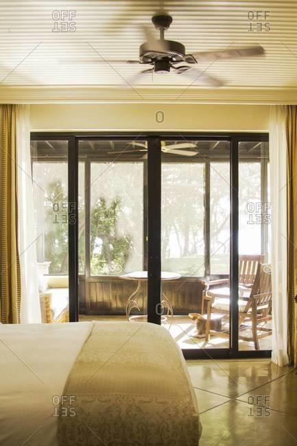 A hotel room in Victoria Falls, Zambia