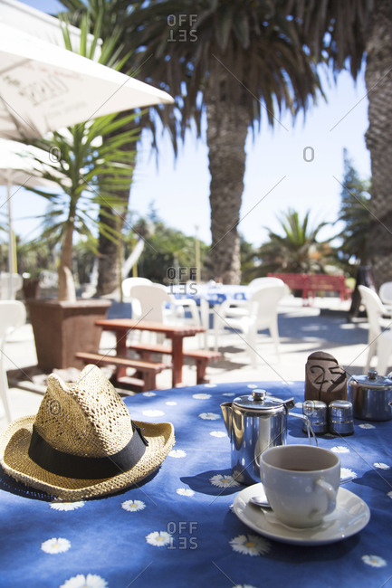 Morning coffee in Swakopmund, Namibia
