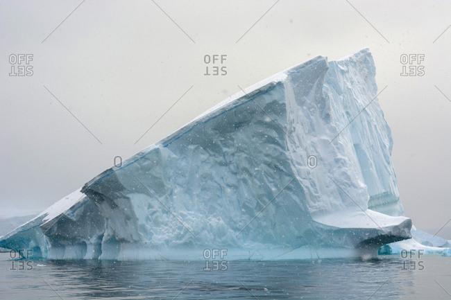 Iceberg in Charlotte Bay, Antarctica