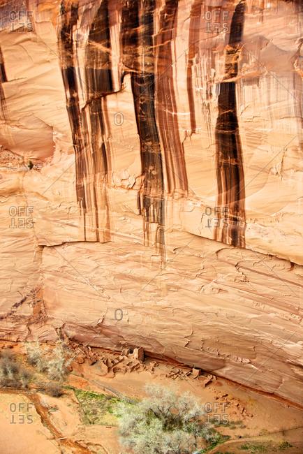 Antelope House, an ancient Anasazi ruin in Canyon de Chelly National Monument, Arizona