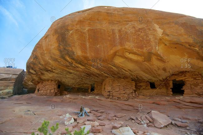 Anasazi ruins in Cedar Mesa, Utah