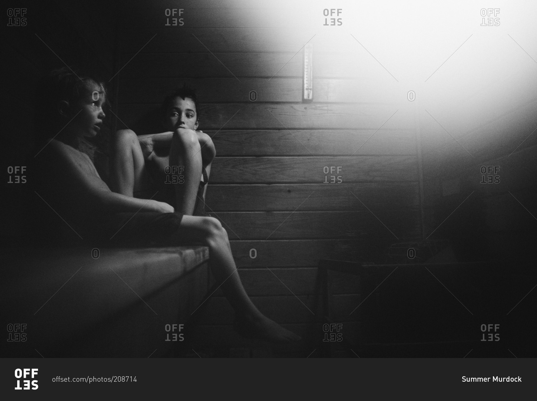 Sauna boys in Touch Sauna