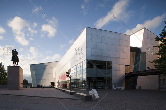 Helsinki, Finland - March 31, 2015: The modern art museum in Helsinki, Finland