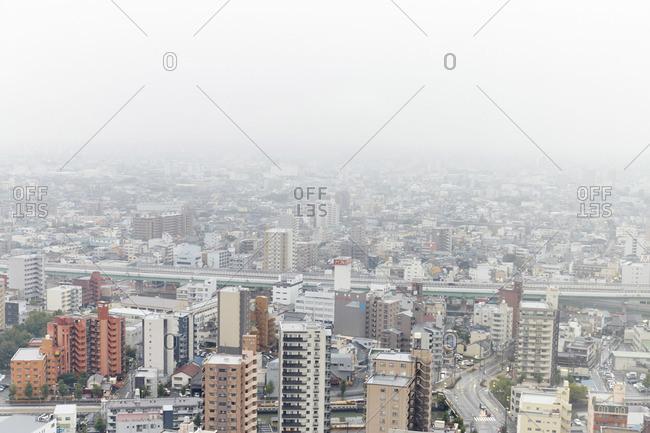 Cityscape of Nagoya in Japan