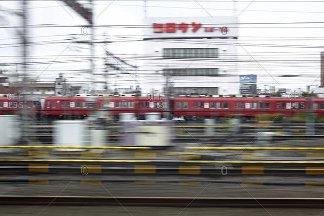 October 4, 2014: Railway station in Nagoya, Japan