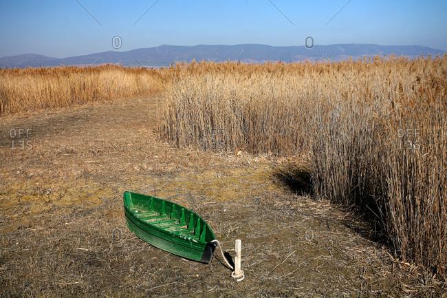Drought in Las Tablas de Daimiel, national park in Spain