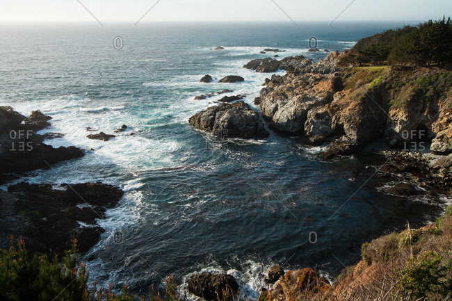 The coast at Big Sur, California