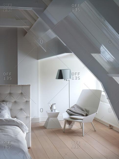 Interior of a stylish bedroom