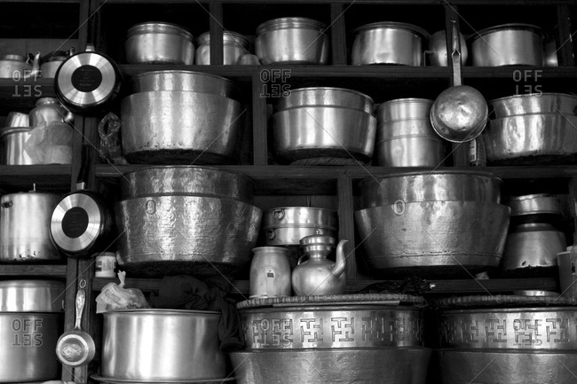 Pots and cookware - Offset Collection