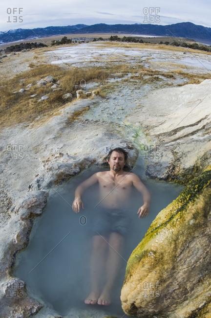 Travertine Hot Springs, Eastern Sierras, California