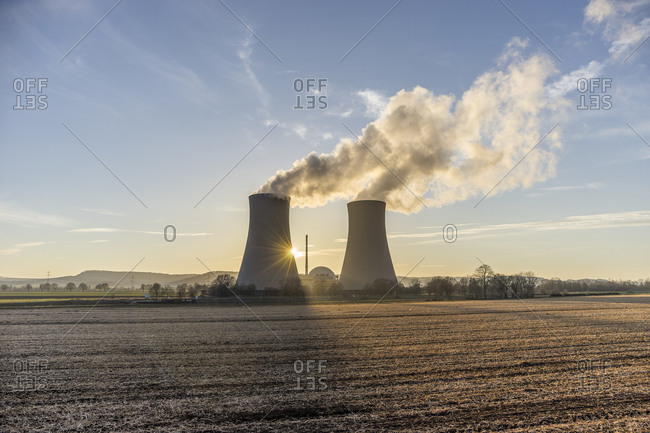 Grohnde Nuclear Power Plant, Grohnde, Lower Saxony