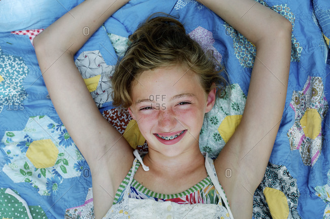 f30fd0c59b7 ... Portrait of a young girl with braces