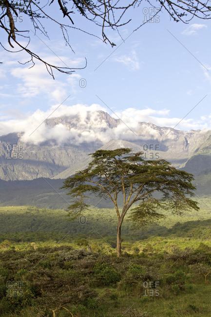Mount Meru in Tanzania
