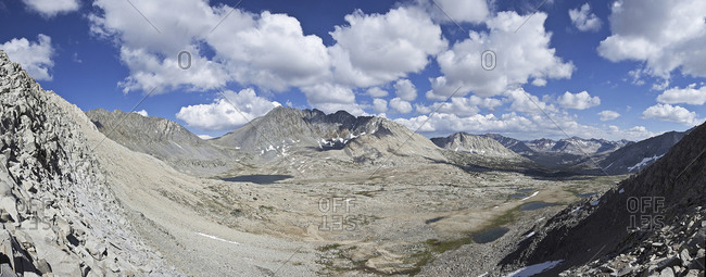 John Muir Trail in the Kings Canyon National Park, California, USA