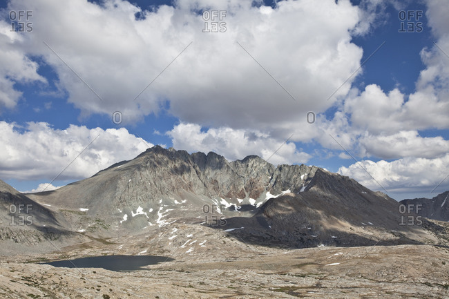 The Mother Pass at the John Muir Trail in the Kings Canyon National Park, California, USA