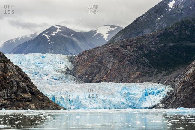 South Sawyer Glacier at the Tracy Arm fjord, Alaska