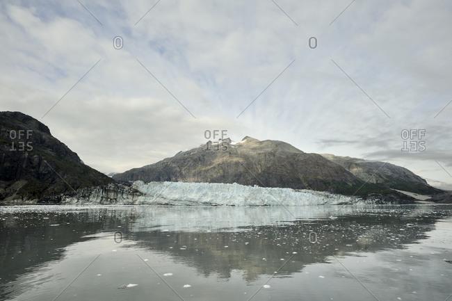 The Margerie Glacier in Glacier Bay National Park,  Alaska